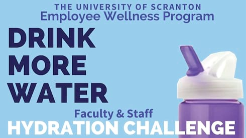 Hydration Challenge for Staff and Faculty banner image