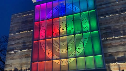 University Launches Rainbow Royals banner image
