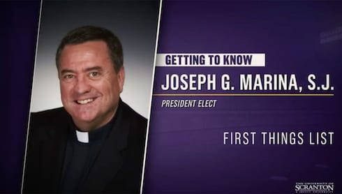 Getting to Know Father Marina: First Things List banner image