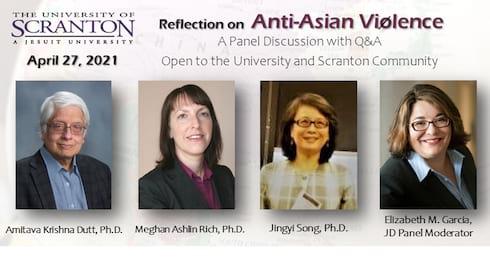 University Hosts Panel Reflecting on Anti-Asian Violence banner image