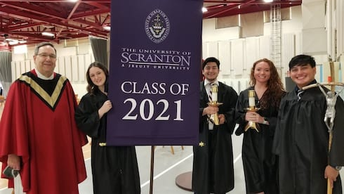 Baccalaureate Mass for The Class of 2021 banner image