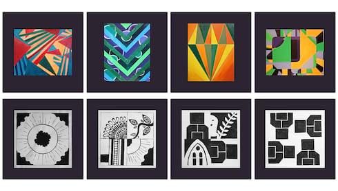 Student Art Exhibition 2021 Online banner image