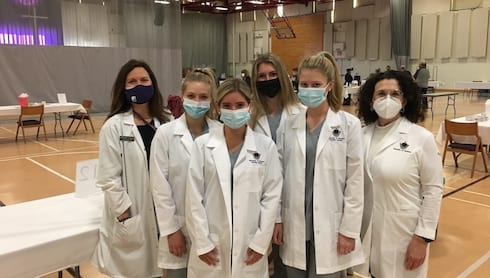 Students Grateful to Volunteer at Vaccine Clinics banner image