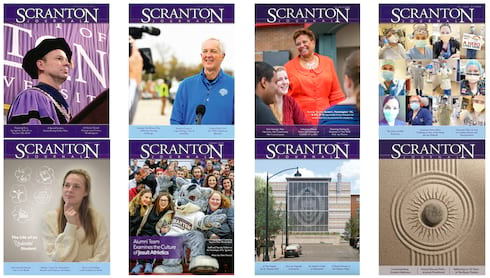 Alumni: We Need Your Input to Improve the Online Scranton Journal! banner image