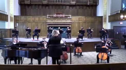 University of Scranton Strings with Eddie Barbash Now Streaming! banner image