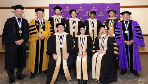 Scranton DBA Program Graduates First Students  banner image