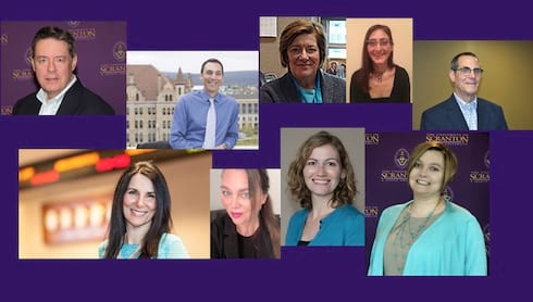 University Faculty Recognized for Excellence  banner image