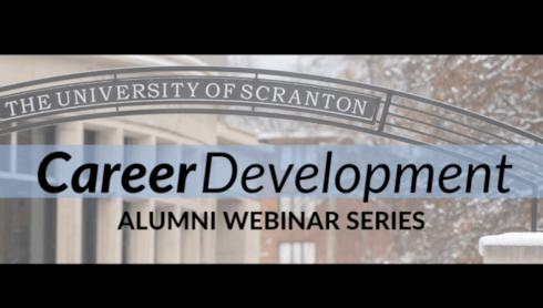 University To Continue Alumni Career Development Webinar Series Sept. 29 banner image