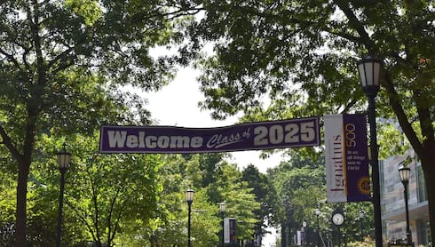 Scranton Welcomes Class of 2025 banner image