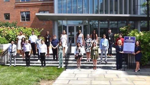 Twenty Area Students Begin University of Success banner image