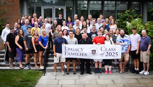 Class Of 2025 Legacy Families Launch Students' Scranton Careers banner image