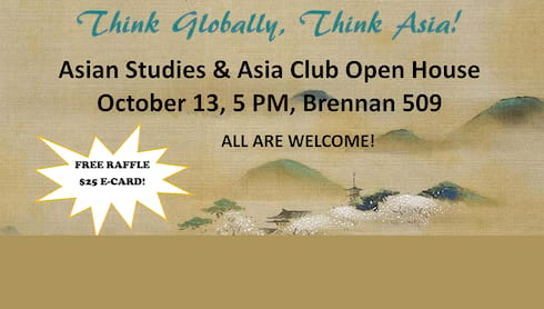 Student Contest: Think Globally, Think Asia! banner image