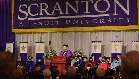 Scranton Celebrates Inauguration of 29th President banner image
