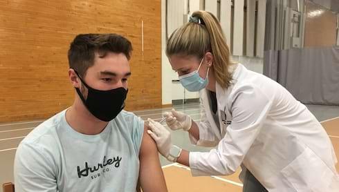 More than 96 Percent Vaccinated at Scranton banner image