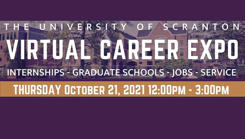 Virtual Career Expo, Oct. 21 banner image