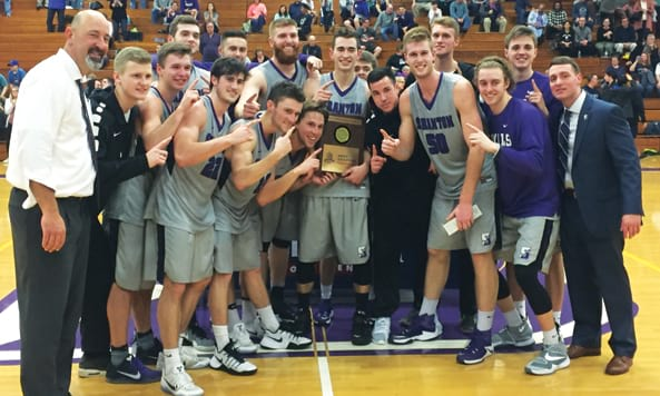 Men's Basketball Claims Seventh Landmark Title