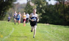 Bartlett, Patwell Lead Cross Country at Landmark Conference Championship