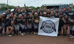 Softball Wins First Landmark Conference Championship, Competes in NCAA Tournament