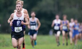 Men's Cross Country Finishes Fourth at Landmark Conference Championships