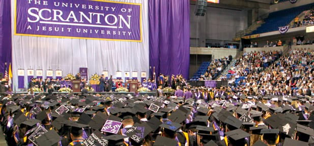 The University of Scranton Conducts Undergraduate Commencement