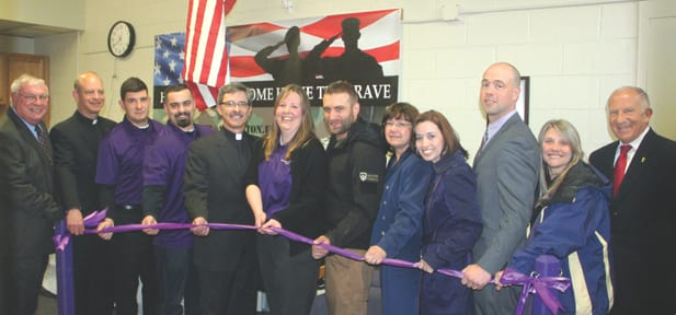 Student Veterans Lounge Opens on Campus