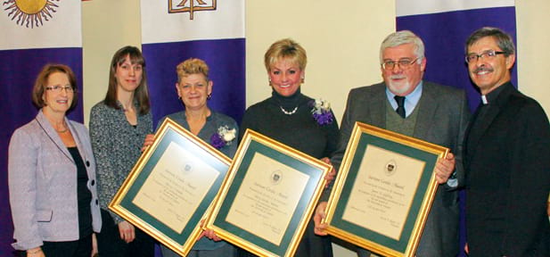 University Employees Recognized at Spring Convocation