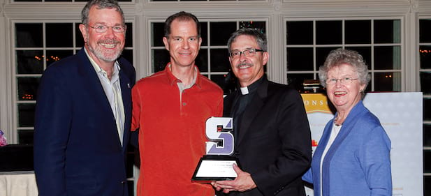 The Late Dave Gavitt Honored at the Carlesimo Award Dinner