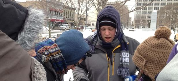 Trading Places Opens Students' Eyes to Poverty During Brutal Week of Winter