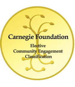 Carnegie Foundation Honors Scranton for Community Engagement and Service
