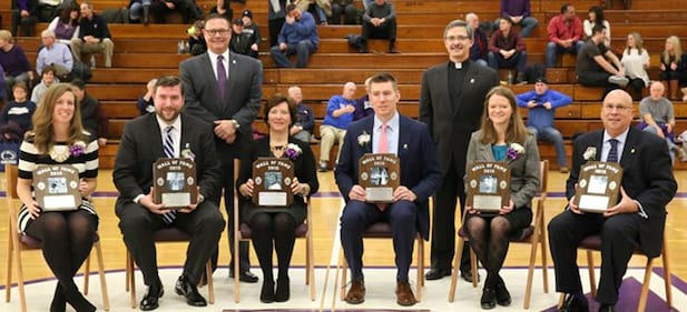 University Inducts Six Into Wall of Fame