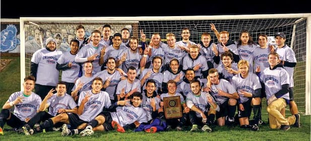 Men's Soccer Wins Second Straight Conference Title