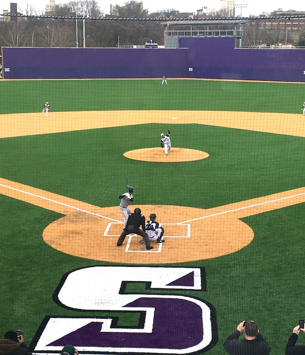 Baseball Game Opens Quinn Athletics Campus, Home to Seven Intercollegiate Athletic Teams
