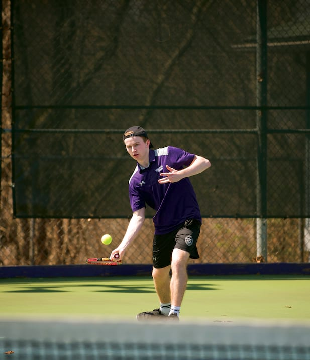 McGurrin Brothers Lead Men's Tennis