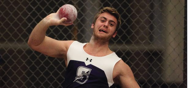 Gerace's Discus Golf Highlights Men's Track & Field Season