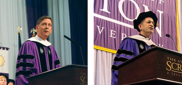 Commencement Speakers Inspire Graduates