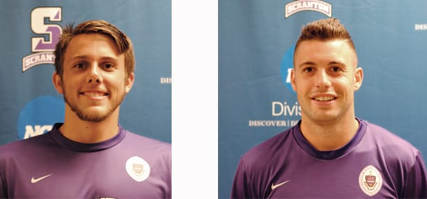 Casey, Donnelly Lead Men's Soccer to 10 Victories