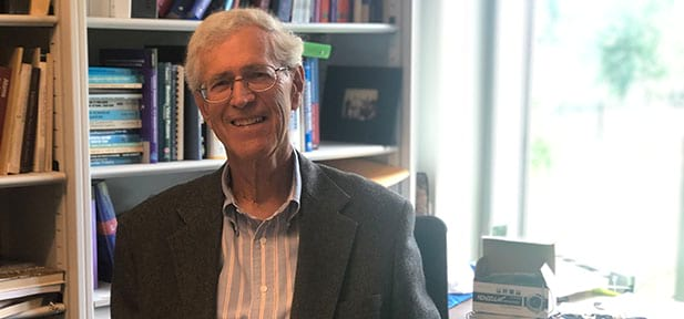 ONE-ON-ONE with Paul Fahey, Ph.D. '64 Professor of Physics and Engineering