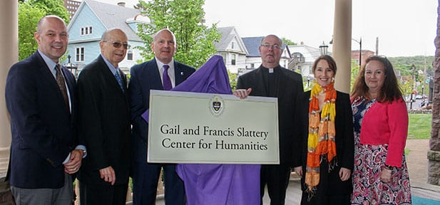 Gail and Francis Slattery Center for Humanities Opens
