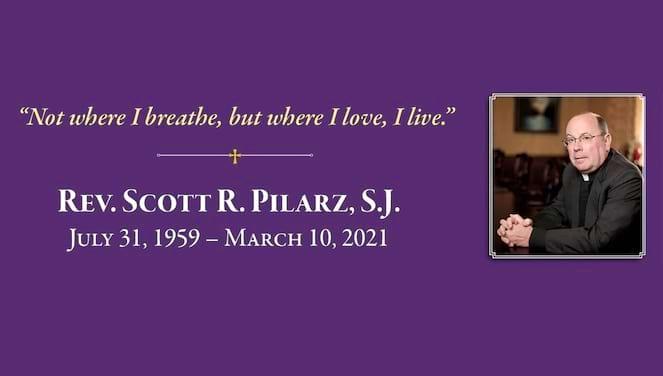 记住Scott R. Pilarz, S.J.横幅图像