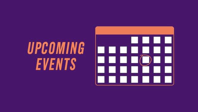 University Announces November Events banner image