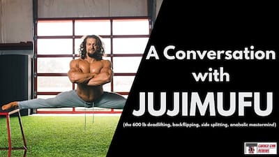 A Conversation with JUJIMUFU, the Anabolic Acrobat Cover Image