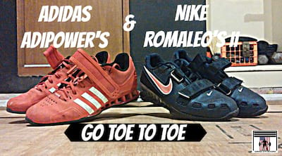 Adidas Adipower vs. Nike Romaleos 2 Weightlifting Shoes Review Cover Image