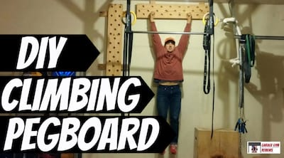DIY Climbing Peg Board Cover Image