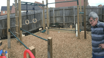 DIY Outdoor Bodyweight Gym Cover Image