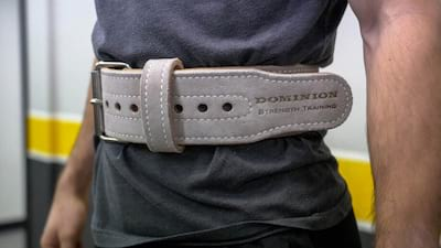 Dominion Strength Powerlifting Belt In-Depth Review Cover Image
