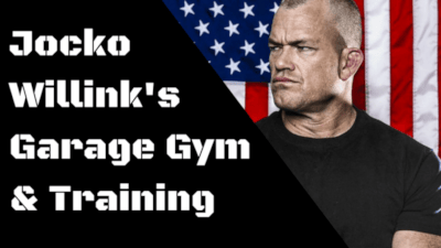 Jocko Willink's Garage Gym & Training Cover Image