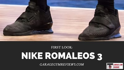 Nike Romaleos 3 First Look Cover Image