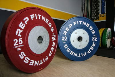 Rep Fitness Competition Bumper Plates Review Cover Image