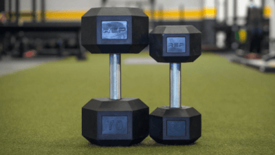 Rep Fitness Rubber Coated Hex Dumbbells In-Depth Review Cover Image