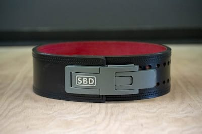 SBD Powerlifting Belt In-Depth Review Cover Image
